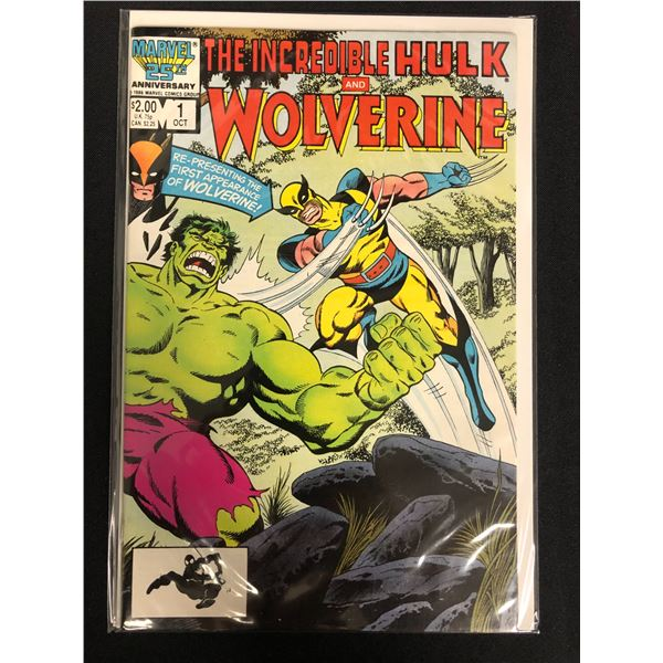 THE INCREDIBLE HULK and WOLVERINE #1 (MARVEL COMICS)