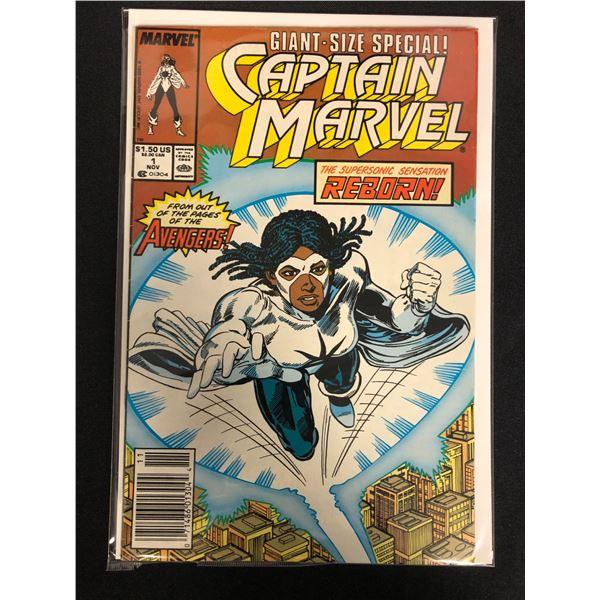 CAPTAIN MARVEL #1 (MARVEL COMICS) Giant-Size Special!