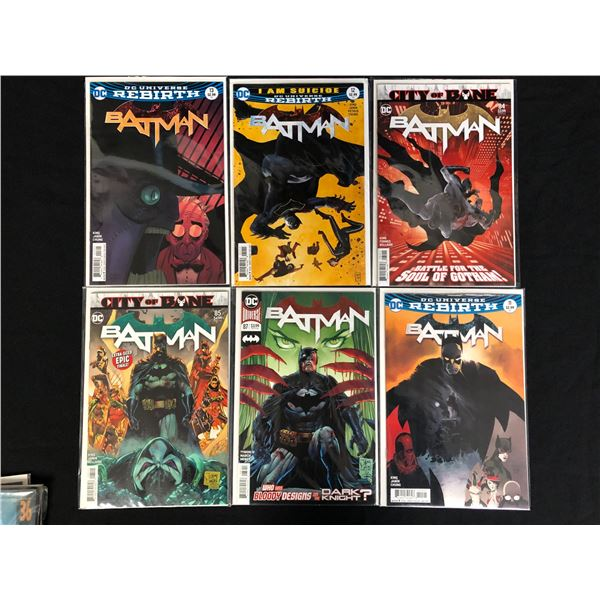 ASSORTED BATMAN COMIC BOOK LOT (DC COMICS)