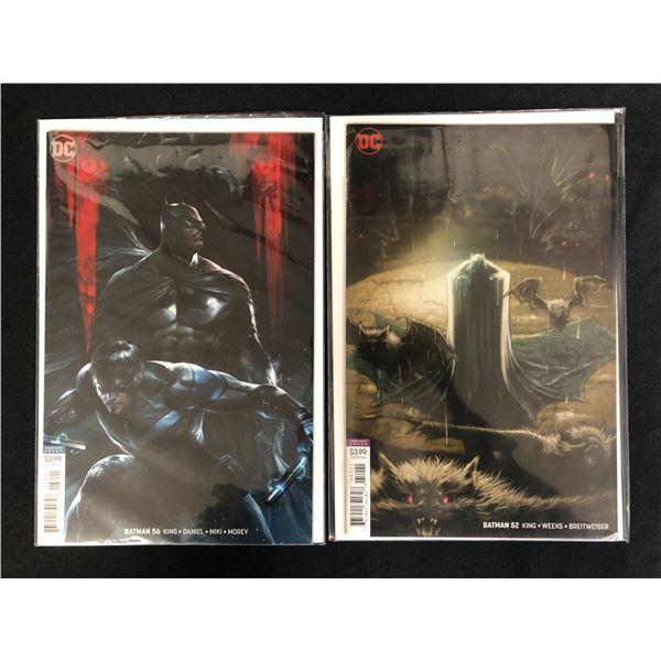 BATMAN #52/ #56 (DC VARIANT COVERS)