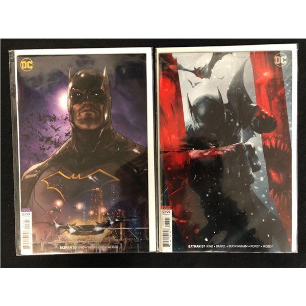 BATMAN #53/ #57 (DC VARIANT COVERS)