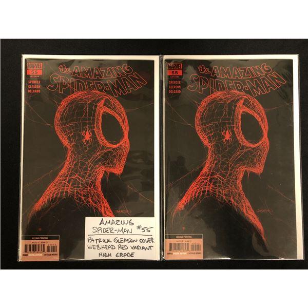 THE AMAZING SPIDER-MAN #55 (MARVEL COMICS) X2