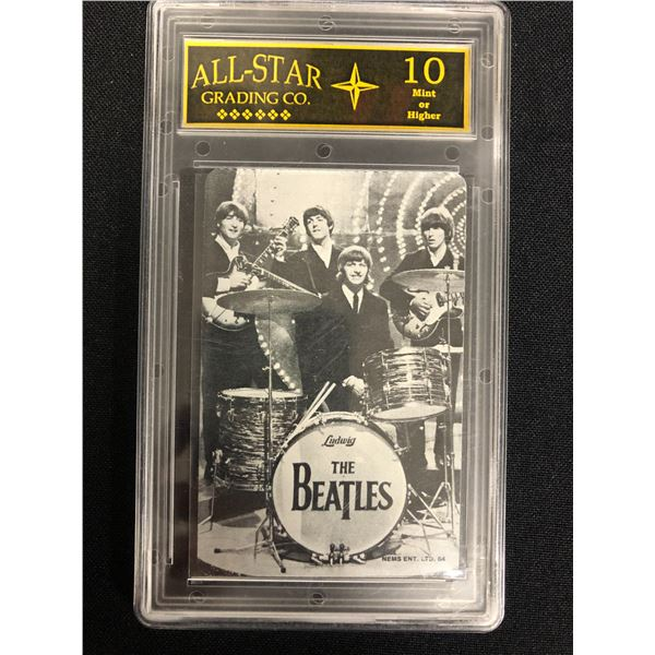 THE BEATLES (ALL-STAR GRADING CO. 10 MINT)