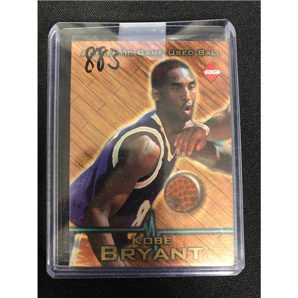1997 Collectors Edge Game Used Ball #2 Kobe Bryant