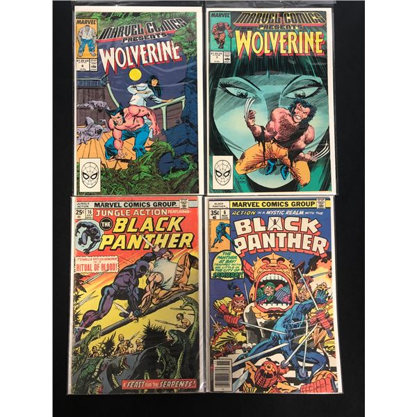MARVEL COMICS BOOK LOT (WOLVERINE/ BLACK PANTHER)