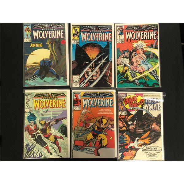 MARVEL COMICS PRESENTS WOLVERINE BOOK LOT