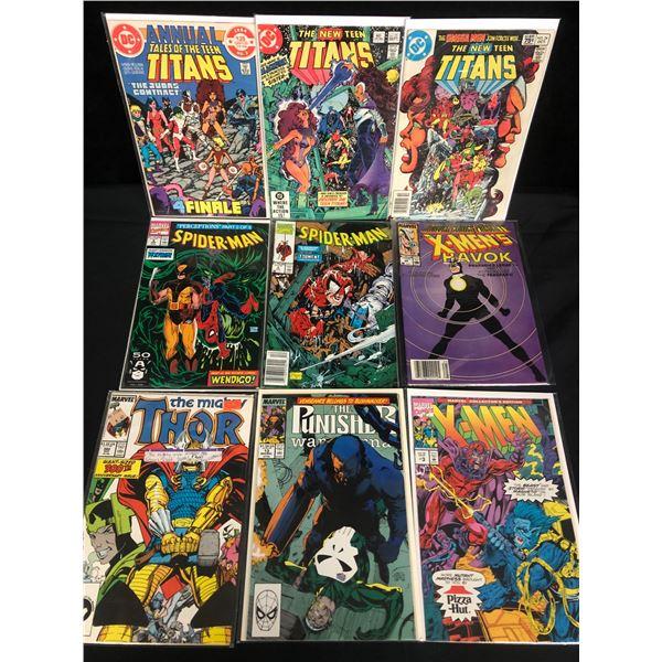 DC/ MARVEL COMICS BOOK LOT