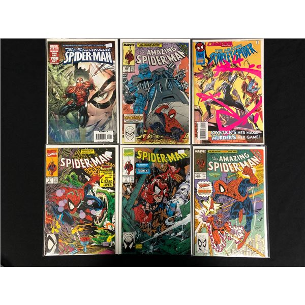 ASSORTED SPIDER-MAN COMIC BOOK LOT
