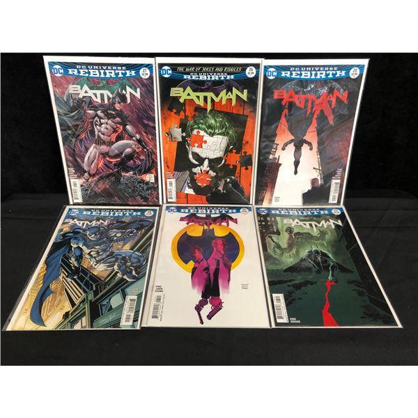 DC UNIVERSE REBIRTH BATMAN COMIC BOOK LOT