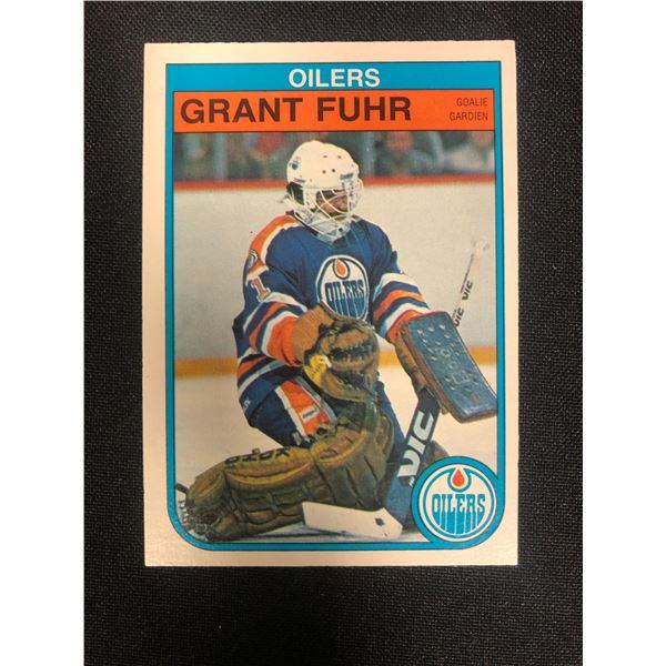 1982 O-PEE-CHEE #105 GRANT FUHR RC