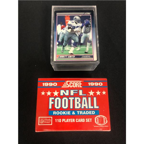 1990 SCORE FOOTBALL CARD LOT