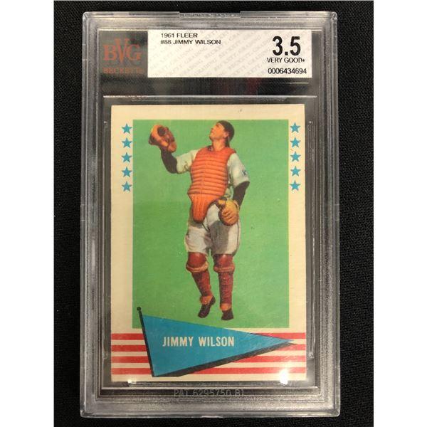 1961 FLEER #88 JIMMY WILSON (3.5 VG+)