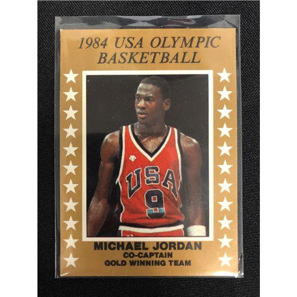 1984 Michael Jordan USA Gold Olympic RC