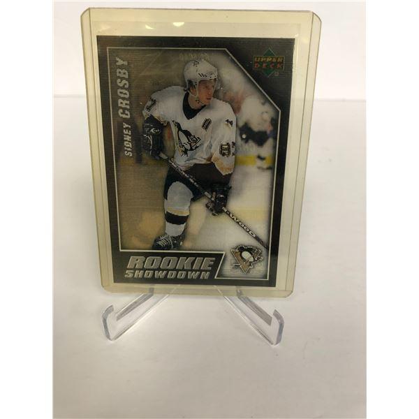 Sidney Crosby/ Alexander Ovechkin 2006 Upper Deck Rookie Showdown Card RS-SCAO