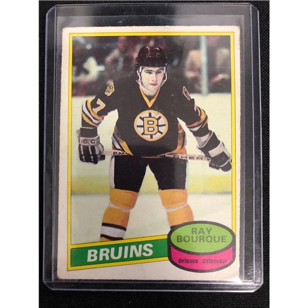 1980-81 OPC #140 Ray Bourque RC