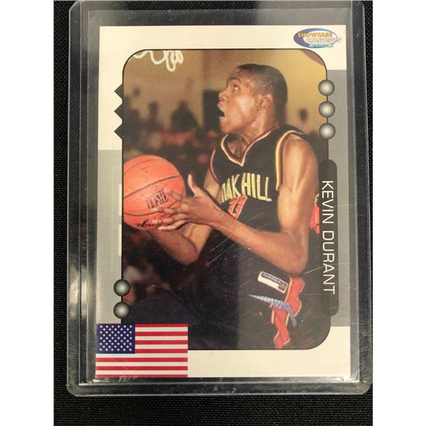 2005 SHOWCASE PROSPECTS KEVIN DURANT BASKETBALL CARD