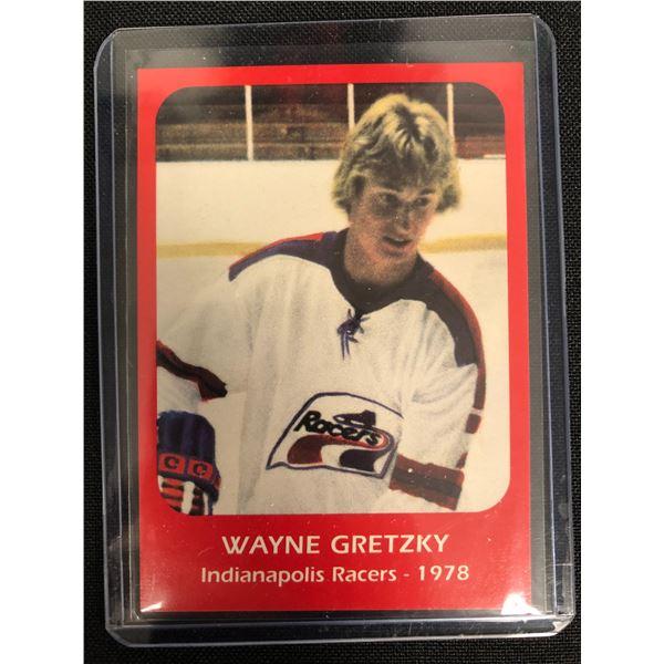 Wayne Gretzky 1978 Indianapolis Racers Rookie Card #1