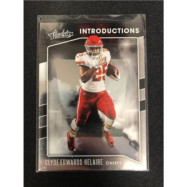 2020 PANINI ABSOLUTE FOOTBALL #1-CEH CLYDE EDWARDS-HELAIRE INTRODUCTIONS
