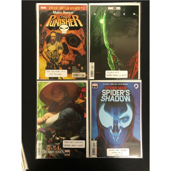 MARVEL VARIANT COVERS COMIC BOOK LOT