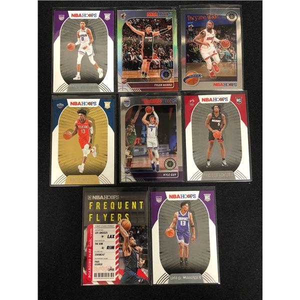 NBA HOOPS BASKETBALL ROOKIE CARD LOT