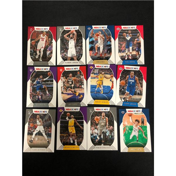 NBA HOOPS BASKETBALL CARD LOT