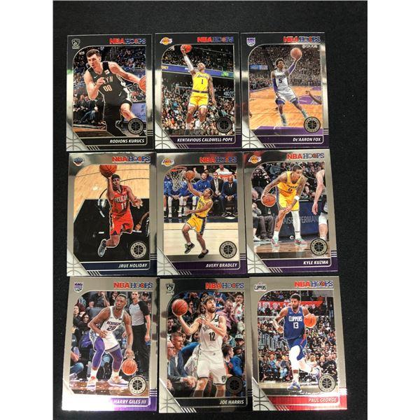 2020 NBA HOOPS BASKETBALL CARD LOT