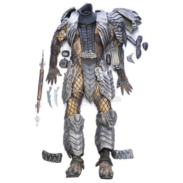 Lot # 18: AVP: ALIEN VS. PREDATOR (2004) - Scar (Ian Whyte) Predator Costume