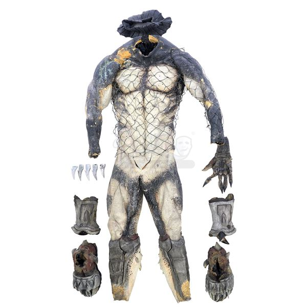 Lot # 19: AVPR: ALIENS VS PREDATOR - REQUIEM (2007) - Wolf (Ian Whyte) Predator Costume Components