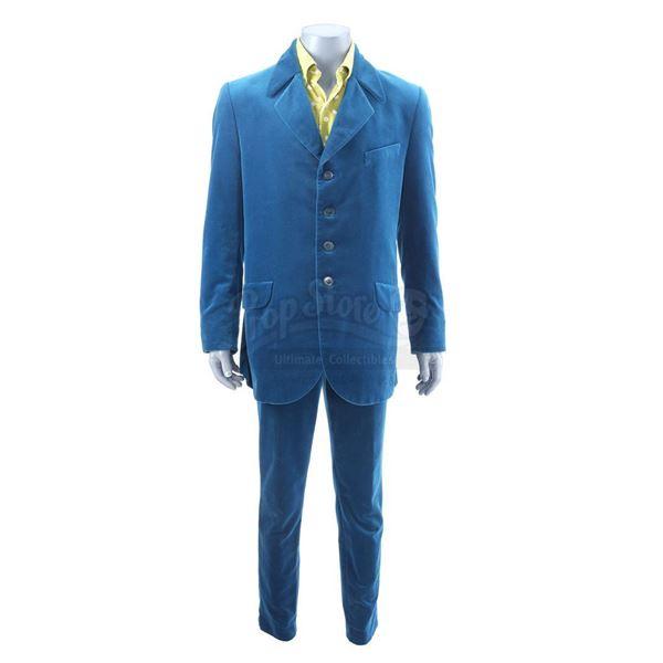 Lot # 22: AUSTIN POWERS: INTERNATIONAL MAN OF MYSTERY (1997) - Austin Powers' (Mike Myers) Blue Suit