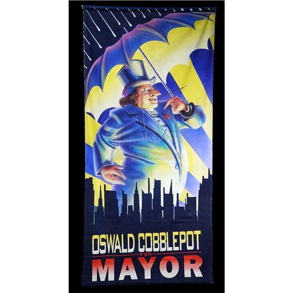 Lot # 35: BATMAN RETURNS (1992) - Large Screen-Matched Hand-Painted Oswald Cobblepot (Danny DeVito)