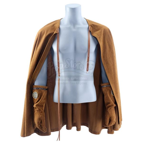 Lot # 39: BATTLESTAR GALACTICA (T.V. SERIES, 1978 - 1979) - Colonial Warrior Cape and Gloves