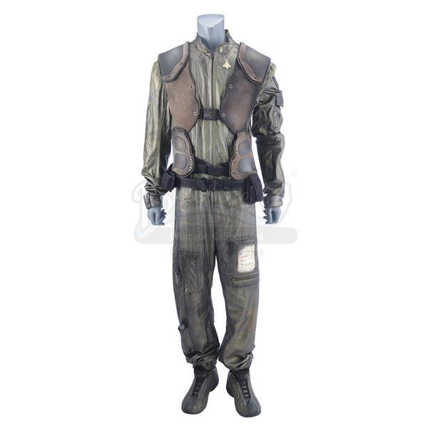 Lot # 40: BATTLESTAR GALACTICA (T.V. SERIES, 2004 - 2009) - Raptor Flight Suit