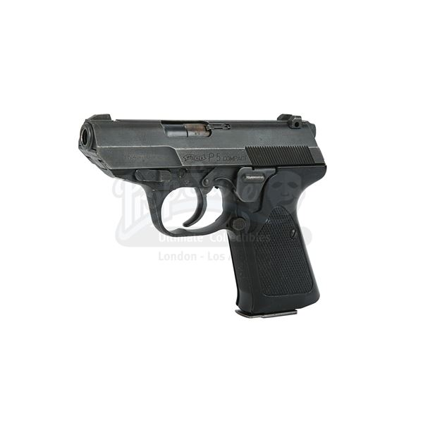 Lot # 44: THE BOURNE IDENTITY (2002) - Jason Bourne's (Matt Damon) Hero Walther P5 Compact Pistol