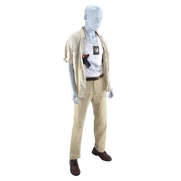 Lot # 64: DIE HARD WITH A VENGEANCE (1995) - John McClane's (Bruce Willis) Costume Display