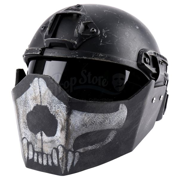 Lot # 69: EDGE OF TOMORROW (2014) - United Defense Force (UDF) British Dog Soldier Helmet