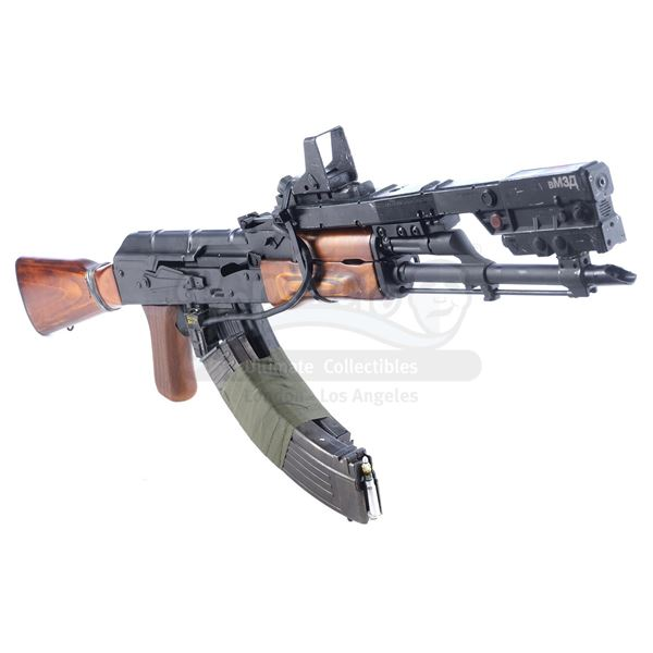 Lot # 71: ELYSIUM (2013) - Max Da Costa's (Matt Damon) Futuristic Rifle Sight with Replica Display R