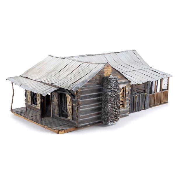 Lot # 74: EVIL DEAD II (1987) - Cabin Model Miniature
