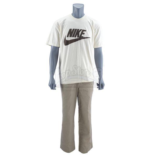 Lot # 81: FORREST GUMP (1994) - Forrest Gump's (Tom Hanks) Nike Running Shirt and Khaki Pants