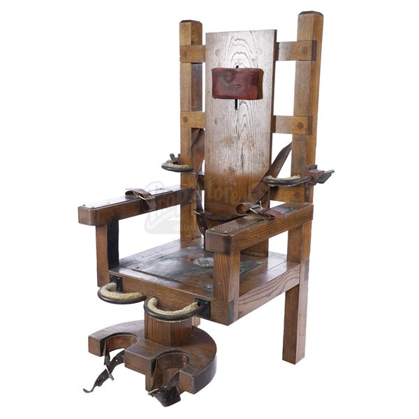 Lot # 95: THE GREEN MILE (1999) - Screen-Matched Hero Prison Electric Chair