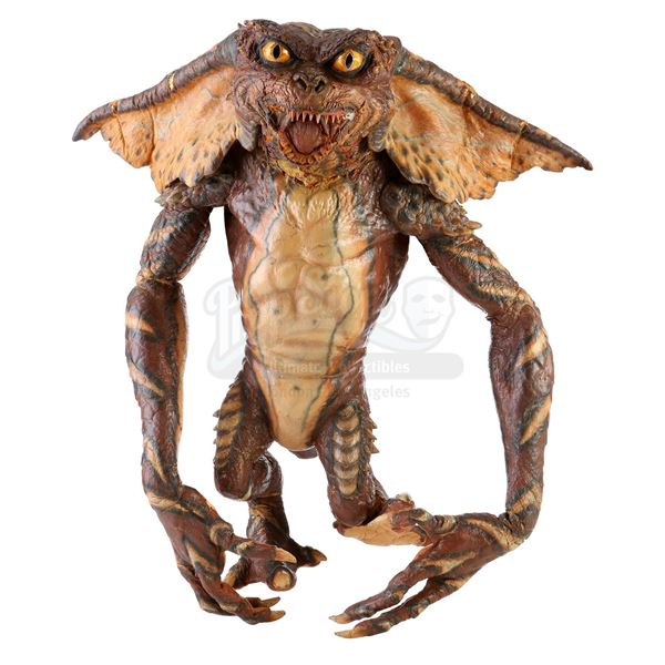 Lot # 97: GREMLINS 2: THE NEW BATCH (1990) - Brown Full-Body Gremlin Puppet