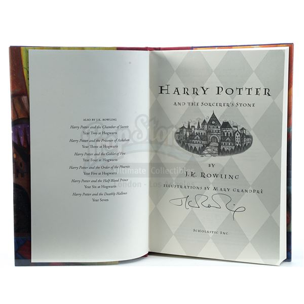 Lot # 105: HARRY POTTER FRANCHISE (1997 - 2007) - J.K. Rowling-Signed Limited Edition Hardcover Boxe