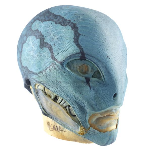 Lot # 110: HELLBOY II: THE GOLDEN ARMY (2008) - Abe Sapien's (Doug Jones) Mask