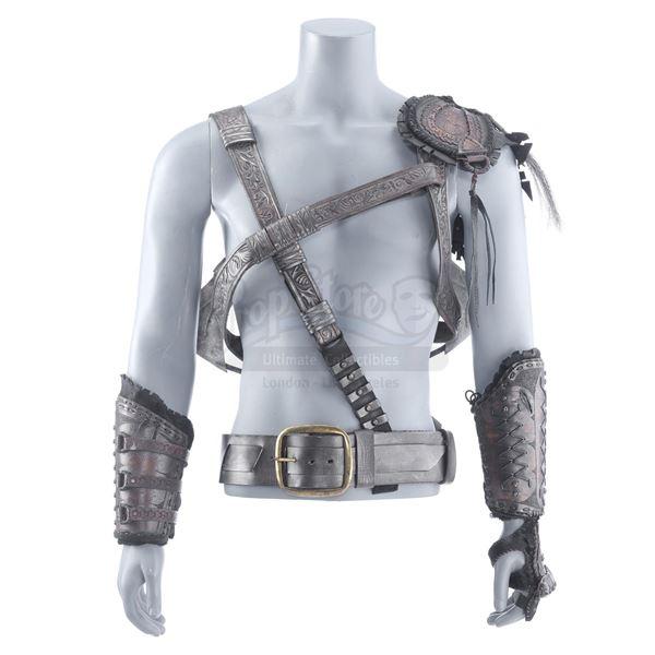 Lot # 122: HUNTSMAN: WINTER'S WAR,THE (2016) - Eric's (Chris Hemsworth) Hero Armor and Axes