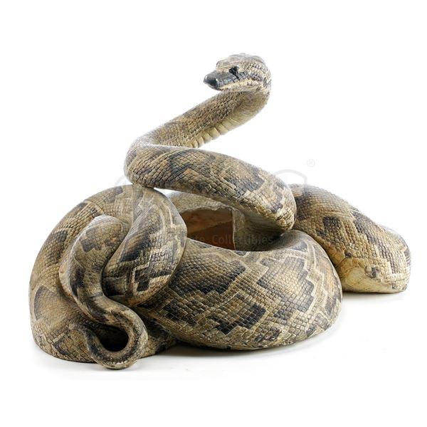 "Lot # 132: INDIANA JONES & THE TEMPLE OF DOOM (1984) - ""Snake Surprise"" Snake"