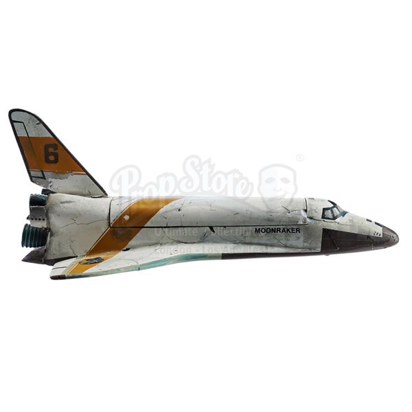 Lot # 140: MOONRAKER (1979) - Moonraker 6 Shuttle Model Miniature