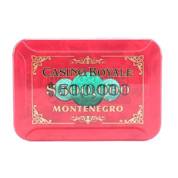 Lot # 143: CASINO ROYALE (2006) - $500,000 Casino Royale Chip