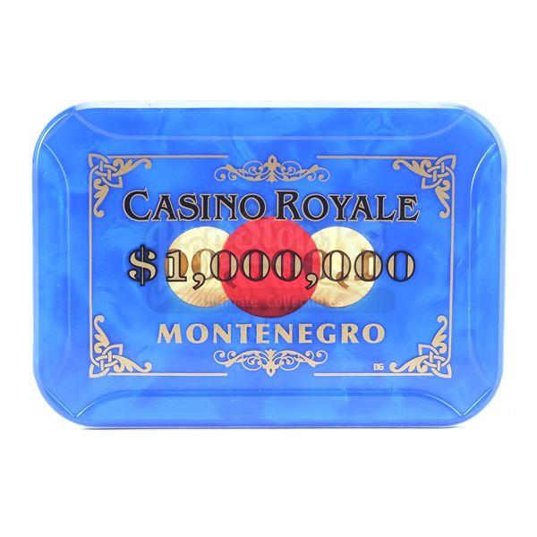 Lot # 144: CASINO ROYALE (2006) - $1,000,000 Casino Royale Chip