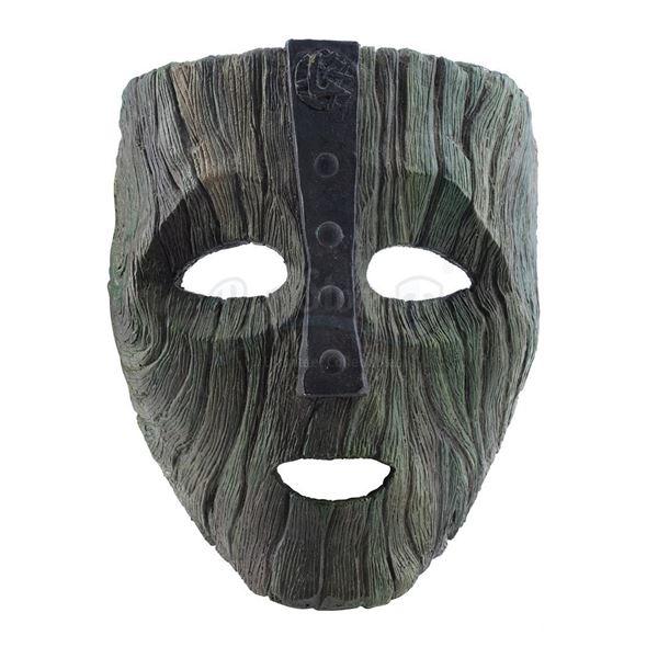Lot # 178: THE MASK (1994) - Foam Floating Mask of Loki