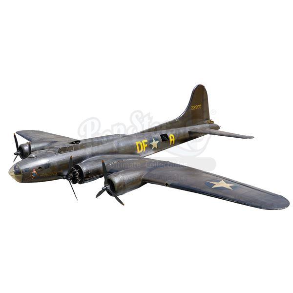 Lot # 181: MEMPHIS BELLE (1990) - Studio-Quality 12' Aircraft Model Miniature Replica