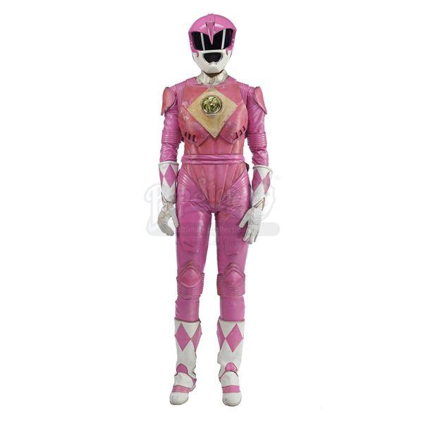 Lot # 187: MIGHTY MORPHIN' POWER RANGERS: THE MOVIE (1995) - Pink Ranger (Amy Jo Johnson) Costume